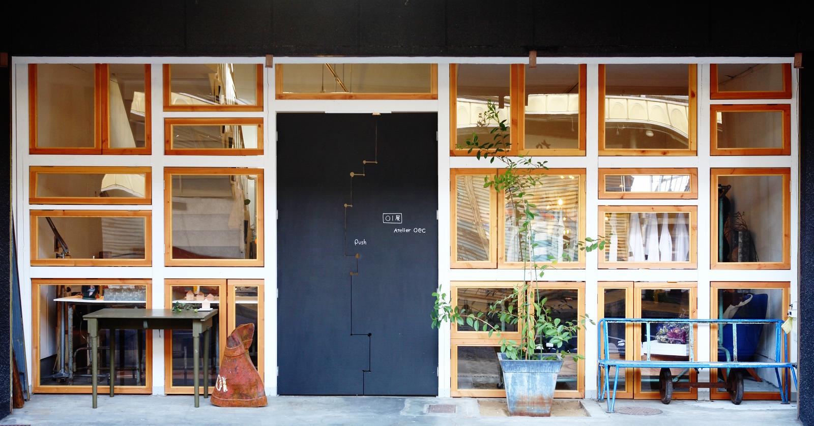 Exterior of atelier oec アトリエoec外観